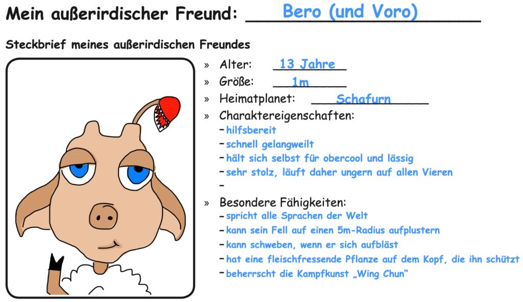 Bero – mein außerirdischer Freund